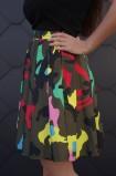 Kamufliažinis sijonas
