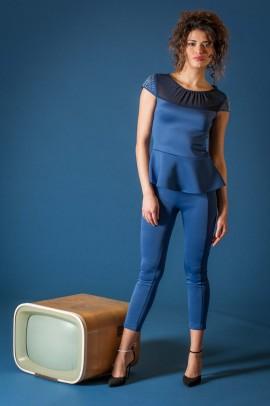 Mėlyna Re fashion palaidinė