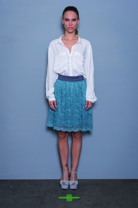 Nėriniuotas vasarinis sijonas