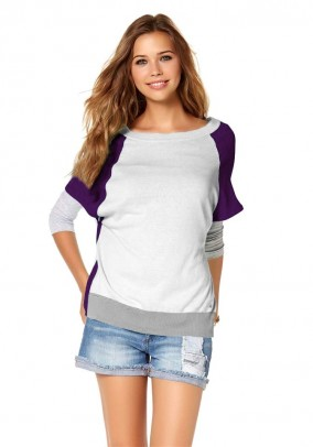 Shirt, lavender-purple