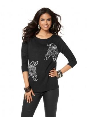 "Megztinis ""Zebra"""