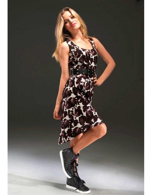 """Suknelė """"Ecru - brown"""""""