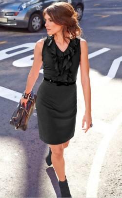 """Juoda suknelė """"Aniston"""""""