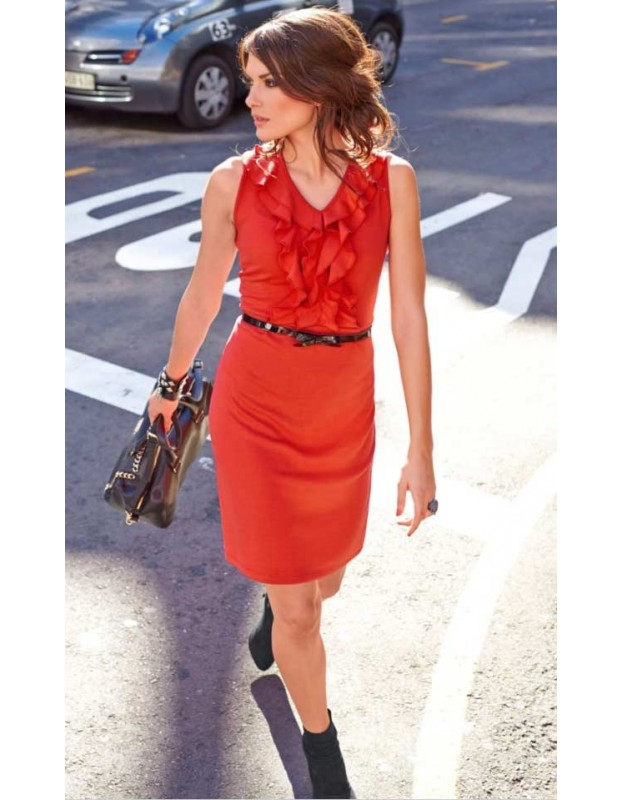"""Raudona suknelė """"Aniston"""""""