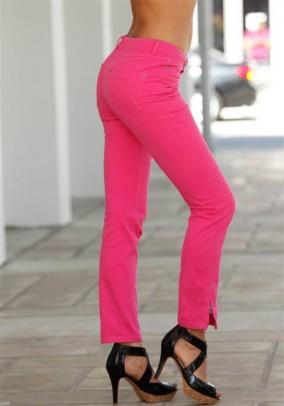 """Rožiniai džinsai """"Pink"""""""