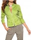 Žalia verstos odos striukė