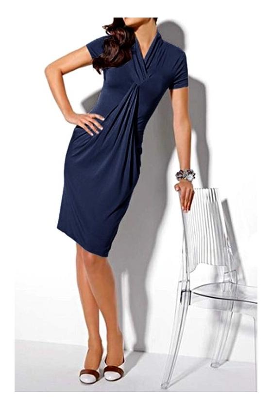 Tamsiai mėlyna suknelė. Liko 36 dydis