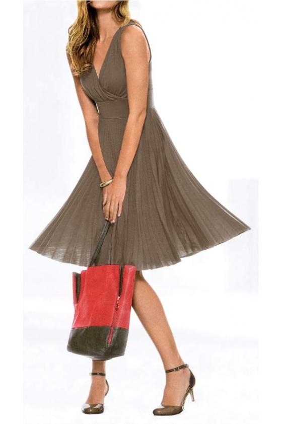"""Elegantiška suknelė """"Taupe"""""""