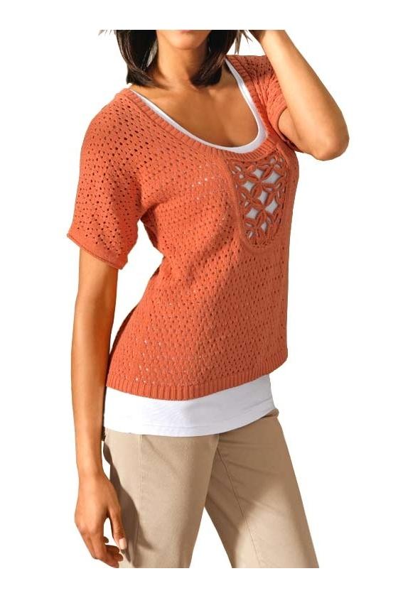 Designer shirt, orange