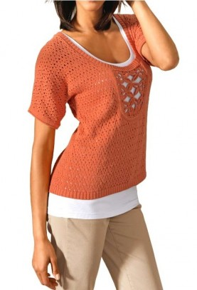 Designer shirt, orange