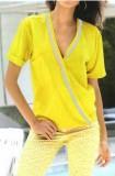 Ryški geltona palaidinė