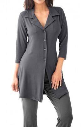 Long cardigan, grey