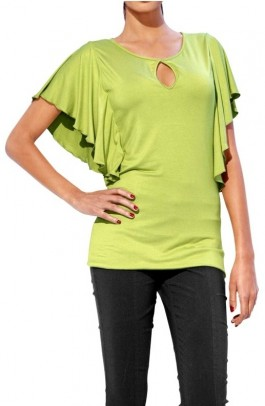 Shapewear shirt, kiwi
