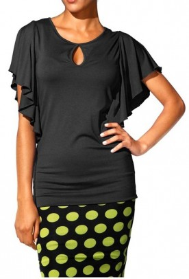 Shapewear shirt, black