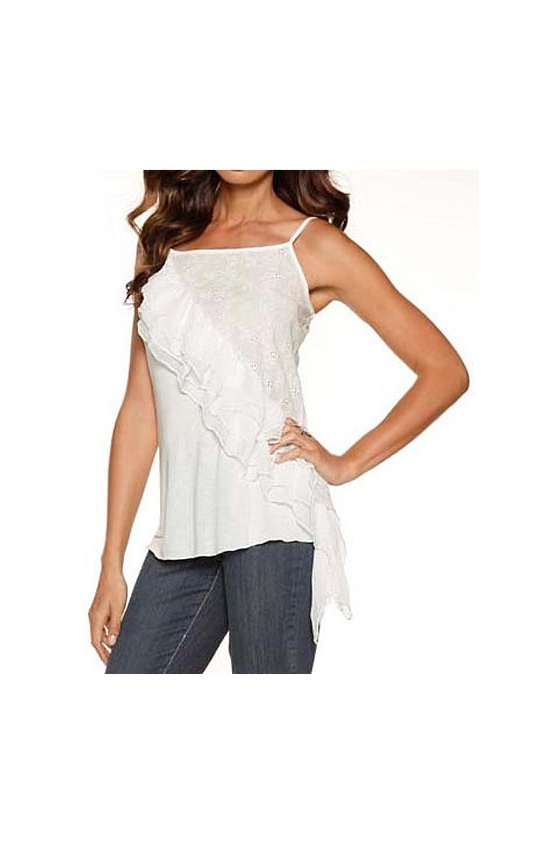 Top with lace, cream