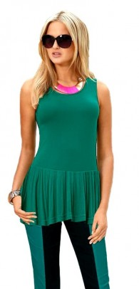 Brands top, green