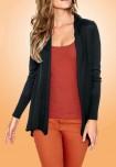 Margas - juodas megztinis