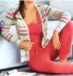 Megztinis su juostelėmis