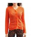 Oranžinis megztinis