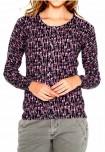 Violetinis megztinis