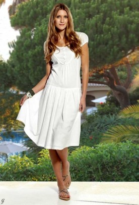 """Balta suknelė """"Label"""". Liko 40 dydis"""