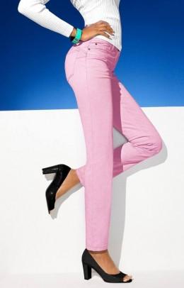 Rožinės kelnės
