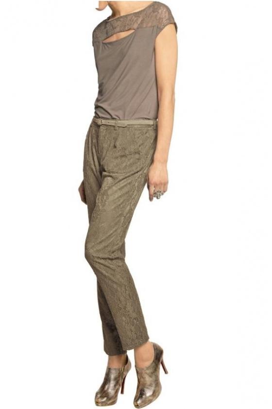 Elegantiškos rudos kelnės