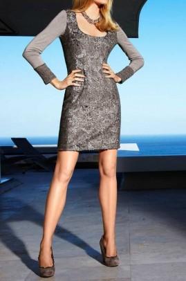 """Prabangi suknelė """"Taupe"""""""