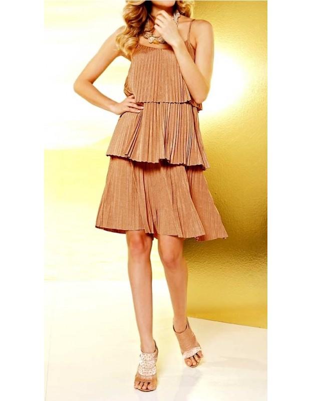 "Sluoksniuota suknelė ""Copper"""