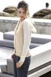 Smėlio spalvos megztinis