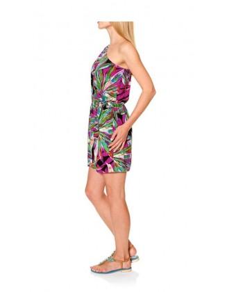 Trumpa marga suknelė