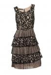 Romantiška sluoksniuota suknelė