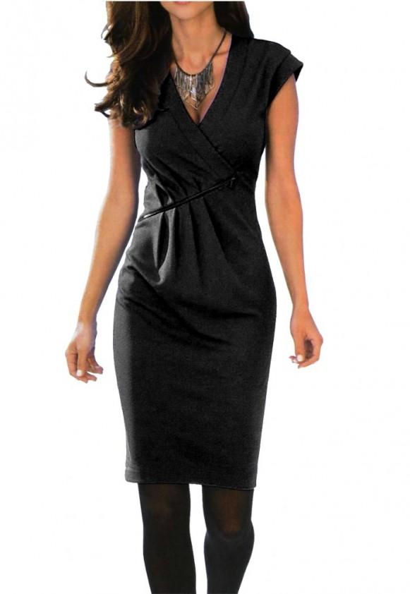 Klasikinė juoda suknelė. Liko 44 dydis