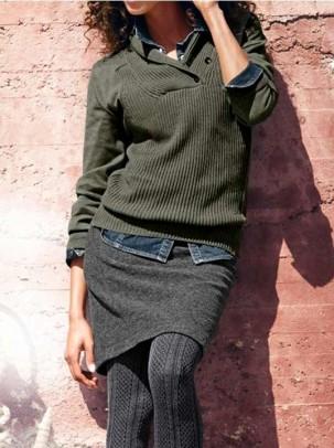 Sweatshirt, olive