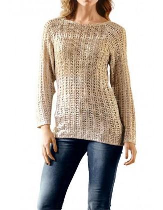 Blizgus megztinis