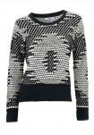 Trumpas margas megztinis