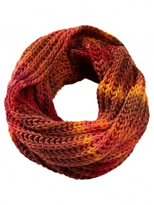 Knit loop, multicolour