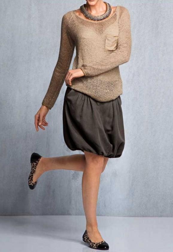 Nertas megztinis su vilna