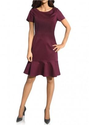 Klasikinė bordo suknelė