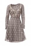 Nėriniuota pastelinė suknelė