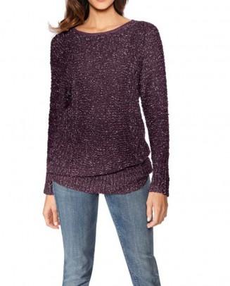 Sweatshirt, purple