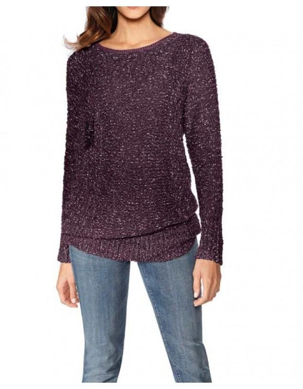 Purpurinis megztinis