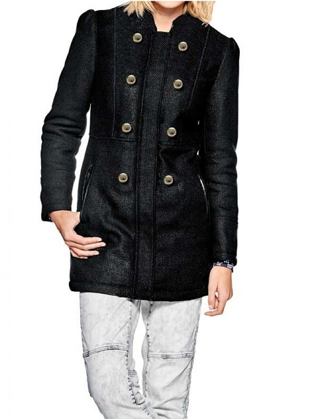 Short coat, black