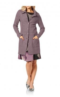 "Vilnonis paltas ""Mauve"" Liko 36 dydis"