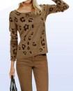 """Megztinis su vilna """"Leopard"""""""
