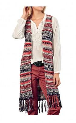 Long vest, multicolour