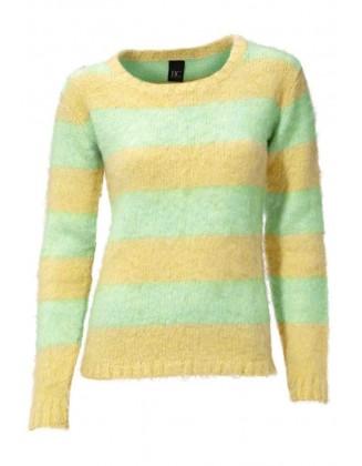 """Dryžuotas megztinis """"Mint"""""""