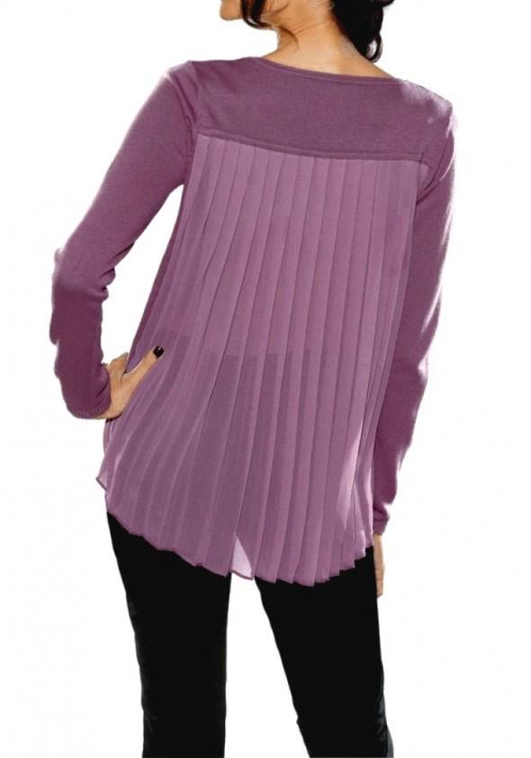 Originali violetinė palaidinė