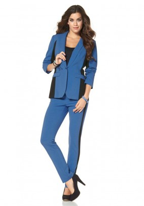 Suit, blue-black