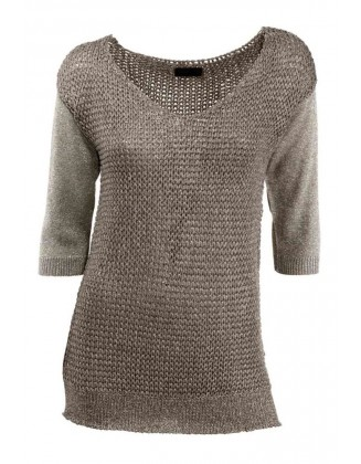 Rusvas megztinis